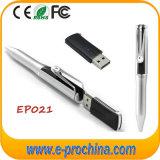 Penas do USB do metal da forma da pena, estilo da pena da vara do USB do OEM