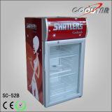 Réfrigérateur portatif de refroidissement direct de porte simple de partie supérieure du comptoir mini (SC52B)