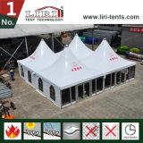 30mのピラミッドのイベントの500人のためのテントによって使用される結婚のテントの玄関ひさしによって20