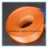 Courroies de treuil avec le crochet plat