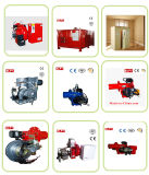 Erdgas-Brenner oder LPG-Gasbrenner in der Industrie
