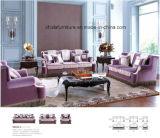 居間のための標準的なファブリックソファーの家具