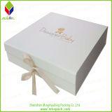 Boîte-cadeau en gros d'emballage de chaussure de Livre Blanc