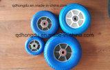 6 인치 플라스틱 변죽 단단한 고무 바퀴