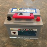 Батарея автомобиля конструкции DIN45mf серой ручки батареи красной новая безуходная