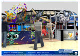 喝采Amusement 20150104-T029-S-2 Space Adventure Themed Soft Play Indoor Playground Equipment