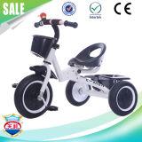 Triciclo de crianças do frame de aço da venda por atacado da fábrica de China com rodas de EVA