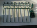 Ral 7004 PVC 집을%s 입히는 철사 담 50mm x 200mm x 4.00mm