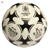 2015 heiße Handsewing PU-Fußball-Fußball-Kugel