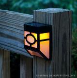 Luz al aire libre solar de la baja tensión con la iluminación caliente