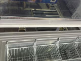 Витрина горячего комода двери верхней части сбывания открытого стеклянного замерзая (SD-350)