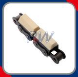 ゴム製ローラーの鎖(木製のコンベヤーで加えられる)
