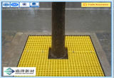 China Rejilla moldeada de fibra de vidrio / malla cuadrada 38X38X38 / FRP, rejilla de PRFV