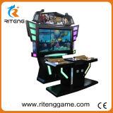 Jeu visuel de combattant de rue d'arcade de poussoir de pièce de monnaie pour le jeu