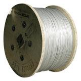標準ASTM B416-98のアルミニウム覆われた鋼鉄繊維ワイヤー(7*2.245mm)