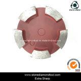 Polonais concret de diamant de meule d'étage en métal de la Chine