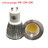 GU10 E27 MR16 E14 Gu5.3 PFEILER LED Lichter der Birnen-LED