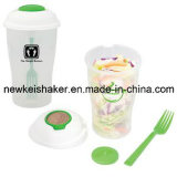Food Grade PP Salad Cup Keep Fresh Salad Shaker