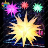 Étoile gonflable DEL de ballon d'éclairage de chaîne de caractères de la décoration DEL
