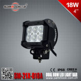 4 duim 18W Dual Row CREE LED Car Driving Light Bar (sm-21x-018A)