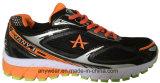 Le fonctionnement de sports de Trainning de Mens lacent chausse vers le haut les chaussures extérieures (815-6054)
