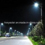緑のEnery統合された太陽LEDの街灯15W