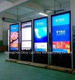 '' monitor derecho libre de la pantalla táctil 47