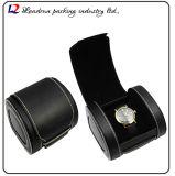 Cadre de mémoire en cuir de luxe d'étalage d'emballage de montre (Sy0133)