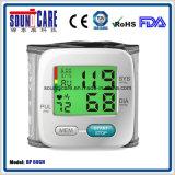 Monitor eletrônico da pressão sanguínea de Digitas do pulso com retroiluminado (BP 60GH)