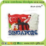 주문을 받아서 만들어진 선전용 선물 실리콘 냉장고 자석 기념품 싱가포르 밤 원정 여행 (RC-SG)