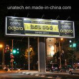 Support de support extérieur Alluminum Scrolling Light Box Billboard