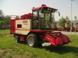 빨간색 단 옥수수 채집 수확기 기계장치