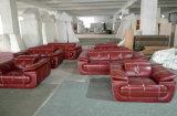 Sofá de couro na mobília Home, sofá moderno da sala de visitas (C40)