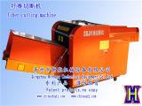 Machine de découpage de rebut automatique de fibre de tissu de Rags