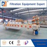 Pressa idraulica del filtro a piastra dell'alloggiamento di Dazhang per l'asciugamento dei residui