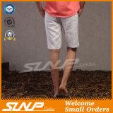 De tipo de tela de algodão ocasional do algodão dos homens personalizados venda por atacado calças curtas
