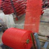 Красный мешок сетки PP трубчатый сетчатый для упаковывая овоща