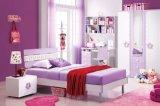 紫色のMDFが付いている女の子の寝室の家具
