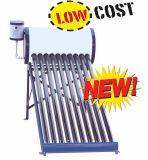 De compacte Lage Druk van het Hete Water Heater/150L van de ZonneCollector/de niet-Onder druk gezette Vacuüm ZonneCollector van de Verwarmer van het Water van Unpressure van de Buis Zonne