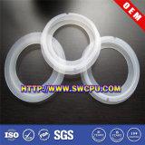 Anneau de joint imperméable à l'eau adapté aux besoins du client par usine en caoutchouc de silicone (SWCPU-R-OR043)