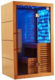 Nouvelle conception de bois de mode Luxe Salle de sauna à infrarouge lointain avec prix de promotion I-012