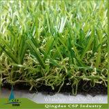 高密度景色の庭の合成物質の草