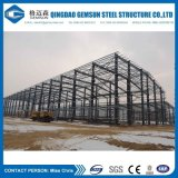 Heller Stahlkonstruktion-Halle-Entwurfs-Stahlgebäude-Installationssätze