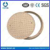 Крышка люка -лаза SMC материальная составная (En124 D400)