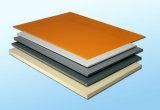 feuille transparente claire rigide solide de PVC de 4X8 2mm