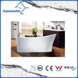 Badezimmer-ovale freistehende Acrylbadewanne (AB1519W)