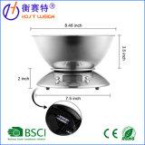 De acero inoxidable con la temperatura del tazón de fuente de cocina Digital Escala
