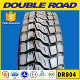 Double pneu de camion de route, 295/75r22.5 pneu, pneu américain