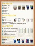El Repackager/el empaquetar de nuevo principales de la piscina y de los productos químicos del BALNEARIO (cloruro de calcio)