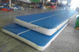 Materiale di Dwf del pavimento gonfiabile dell'aria della pista Tumbling gonfiabile dell'aria per ginnastica